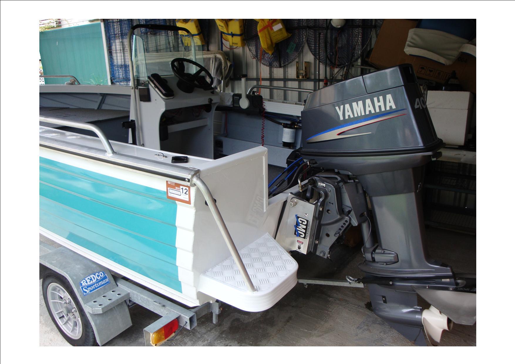 Outboard Motor Transom Lift Yamaha Hp